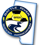 Battle River Soccer Association logo